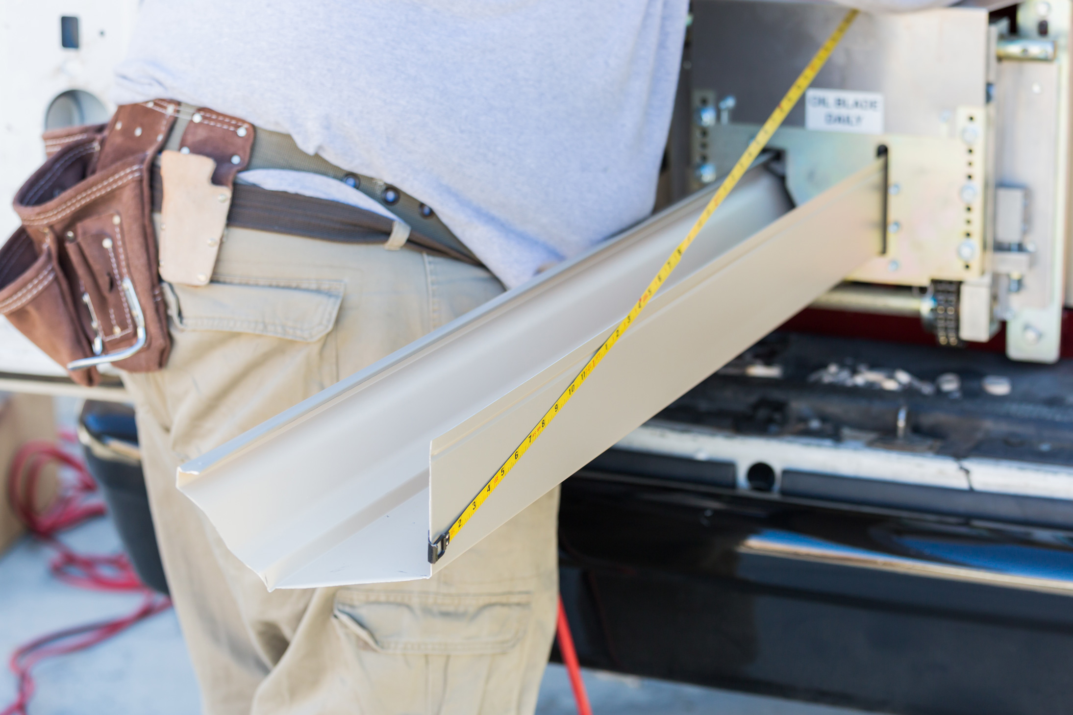 Seamless Gutter Installation services